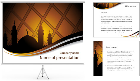 islam religion powerpoint template amp backgrounds id