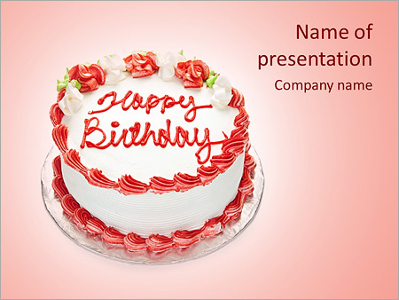 Happy Birthday Powerpoint Template Backgrounds Google Slides Id
