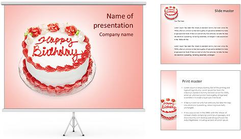 День тема powerpoint рождения презентации для