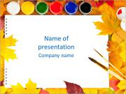 Water Colors PowerPoint Template