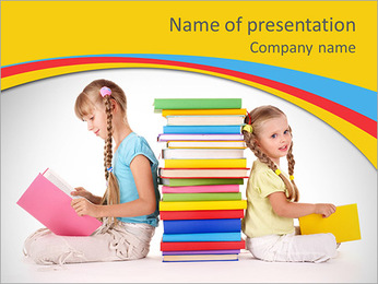 Reading Book PowerPoint Template