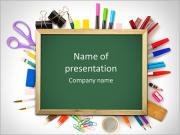School Stuff PowerPoint Templates