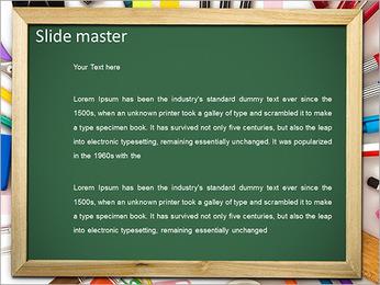 学校スタッフ PowerPointプレゼンテーションのテンプレート