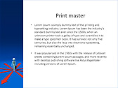 Businessman In Center Point Animated PowerPoint Template - Slide 35
