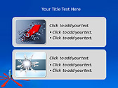 Businessman In Center Point Animated PowerPoint Template - Slide 9