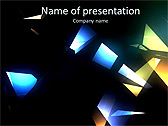 Light Effect Animated PowerPoint Template - Slide 1