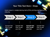Light Effect Animated PowerPoint Template - Slide 3