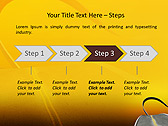 Twisting Road Animated PowerPoint Template - Slide 3