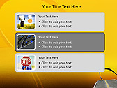 Twisting Road Animated PowerPoint Template - Slide 8