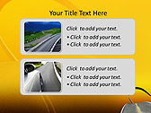 Twisting Road Animated PowerPoint Template - Slide 9