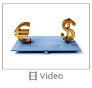 Dollar And Euro Sign Video