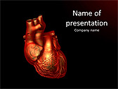 Human Heart Animated PowerPoint Template - Slide 1