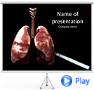 Lungs Of Human Animated PowerPoint Template