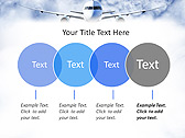 Plane Flight Animated PowerPoint Template - Slide 10