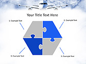 Plane Flight Animated PowerPoint Template - Slide 11