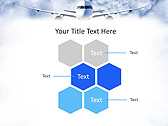 Plane Flight Animated PowerPoint Template - Slide 12