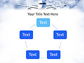 Plane Flight Animated PowerPoint Template - Slide 13