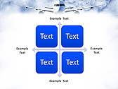 Plane Flight Animated PowerPoint Template - Slide 15
