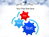 Plane Flight Animated PowerPoint Template - Slide 16
