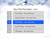 Plane Flight Animated PowerPoint Template - Slide 2