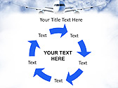 Plane Flight Animated PowerPoint Template - Slide 20