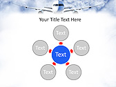 Plane Flight Animated PowerPoint Template - Slide 21