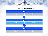 Plane Flight Animated PowerPoint Template - Slide 23