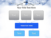 Plane Flight Animated PowerPoint Template - Slide 27
