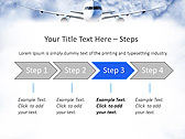 Plane Flight Animated PowerPoint Template - Slide 3