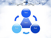 Plane Flight Animated PowerPoint Template - Slide 5