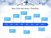 Plane Flight Animated PowerPoint Template - Slide 6