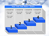 Plane Flight Animated PowerPoint Template - Slide 7