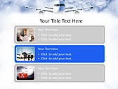 Plane Flight Animated PowerPoint Template - Slide 8