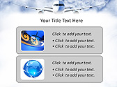 Plane Flight Animated PowerPoint Template - Slide 9
