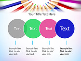 Pencils In Circle Animated PowerPoint Template - Slide 10