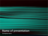 Green Lines Animated PowerPoint Templates - Slide 1