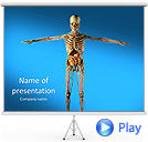 Skeleton Animated PowerPoint Template