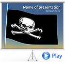 Skull Sigh Animated PowerPoint Template