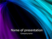 Blue Lines Design Animated PowerPoint Template - Slide 1
