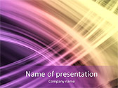 Lilac Abstraction Animated PowerPoint Template - Slide 1