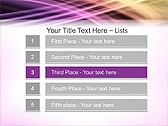 Lilac Abstraction Animated PowerPoint Template - Slide 2