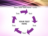 Lilac Abstraction Animated PowerPoint Template - Slide 20
