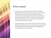 Lilac Abstraction Animated PowerPoint Template - Slide 35