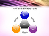 Lilac Abstraction Animated PowerPoint Template - Slide 5