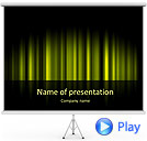 Yellow Color Vibration Animated PowerPoint Template