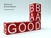 Good Or Bad Animated PowerPoint Template - Slide 1