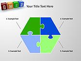 Idea Word On Tesseras Animated PowerPoint Templates - Slide 11