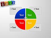 Idea Word On Tesseras Animated PowerPoint Templates - Slide 14