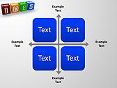 Idea Word On Tesseras Animated PowerPoint Templates - Slide 15
