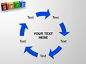 Idea Word On Tesseras Animated PowerPoint Templates - Slide 20
